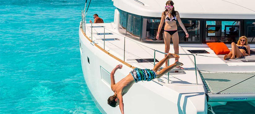 Caribbean catamaran charter